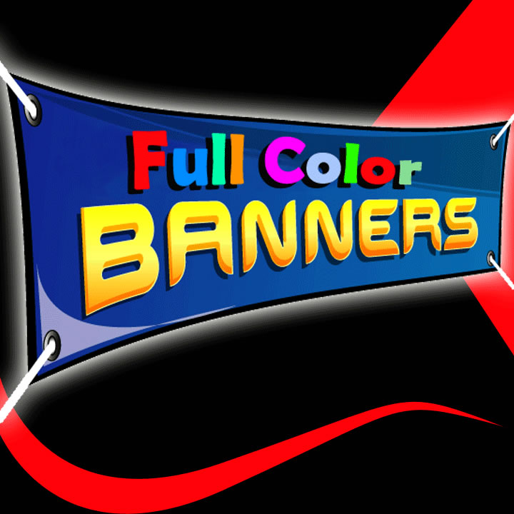 full color custom banners